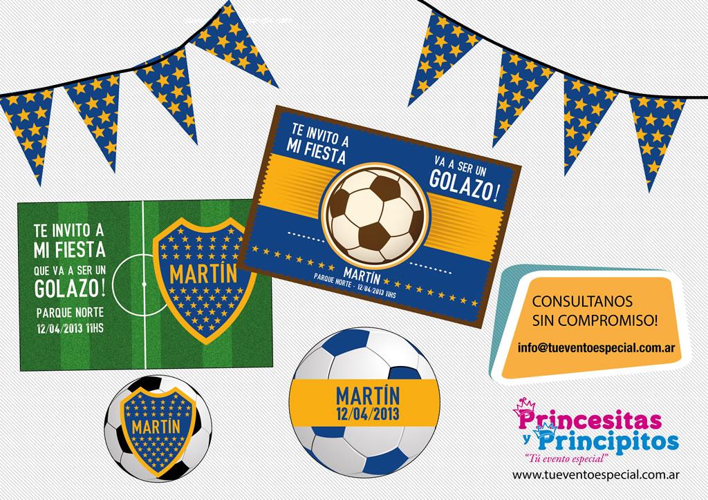 Fiesta Infantil Temática Fútbol Golosinas Personalizadas