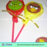 Paletas de Angry Birds