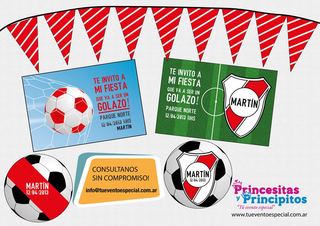 Decoracion De Cumpleanos Infantiles De River Plate